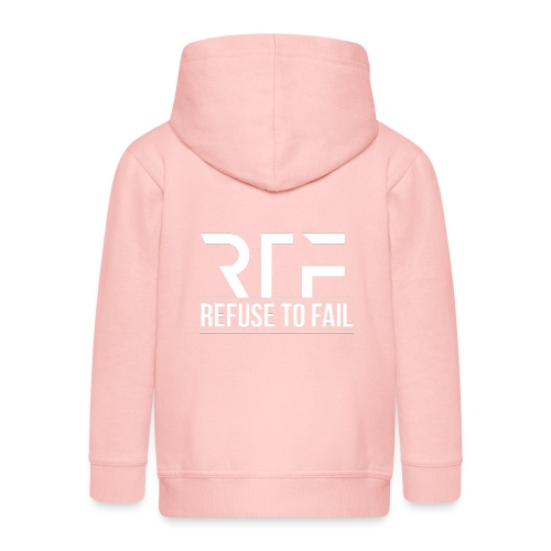 Refuse To Fail - Kids' Premium Zip Hoodie