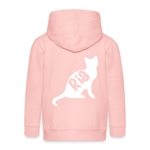 Team Ria Cat - Kids' Premium Zip Hoodie