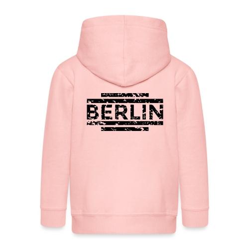 Berlin 20th (Vintage/Schwarz) - Kinder Premium Kapuzenjacke