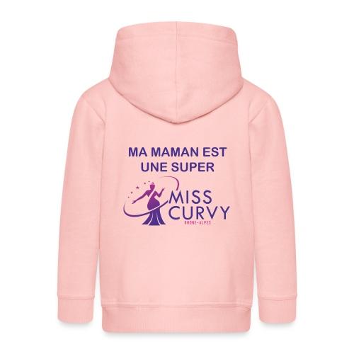 MISS CURVY Ma maman - Veste à capuche Premium Enfant