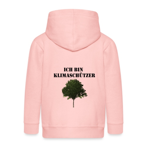 Klimaschutz Baum - Kinder Premium Kapuzenjacke