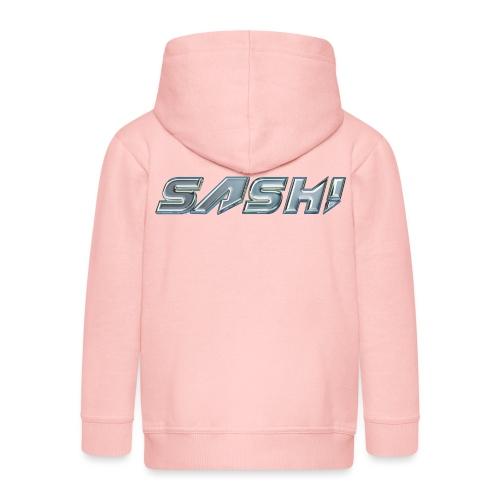 SASH! Logo 2 - Kids' Premium Hooded Jacket