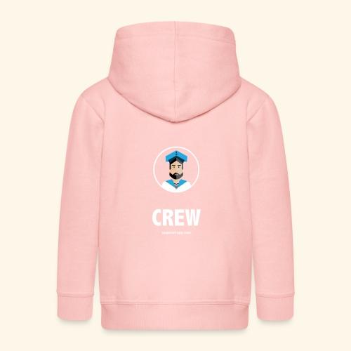 SeaProof Crew - Kinder Premium Kapuzenjacke