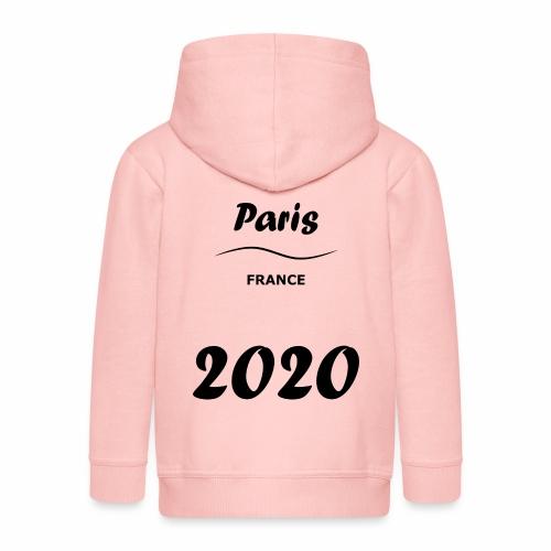 Paris 2020 - Veste à capuche Premium Enfant