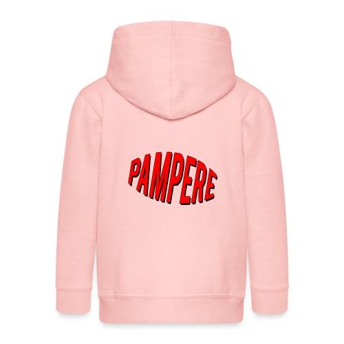pampere - Rozpinana bluza dziecięca z kapturem Premium