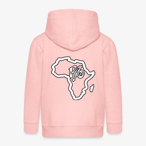 afrika pictogram - Kinderen Premium jas met capuchon
