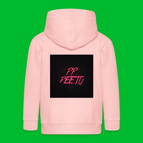 Ppppeetu logo - Lasten premium hupparitakki