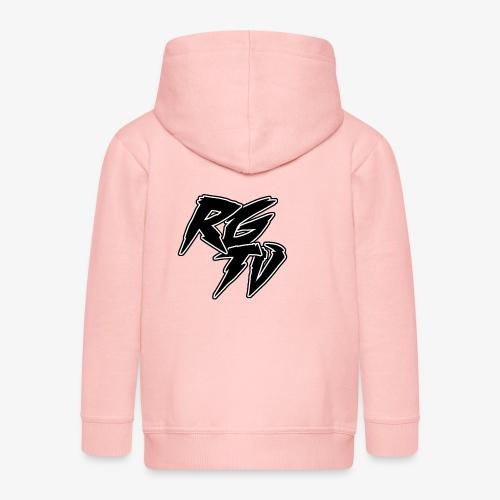RGTV LOGO - Kids' Premium Zip Hoodie