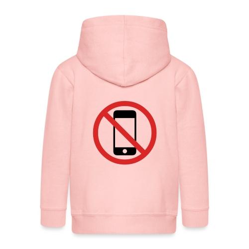 No Phone - Veste à capuche Premium Enfant