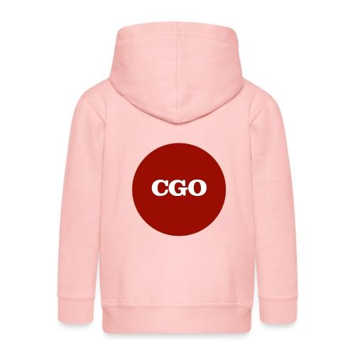 watermerk cgo - Kinderen Premium jas met capuchon