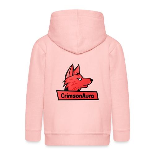 CrimsonAura Logo Merchandise - Kids' Premium Zip Hoodie