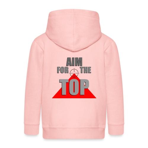 Aim For The Top, by SBDesigns - Veste à capuche Premium Enfant