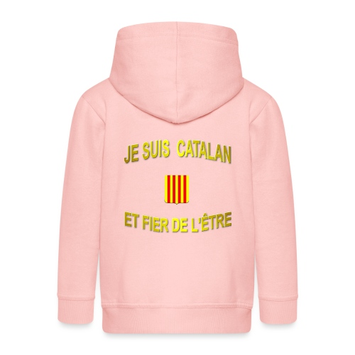 Dessous de verre à l'emblème du PAYS CATALAN - Veste à capuche Premium Enfant