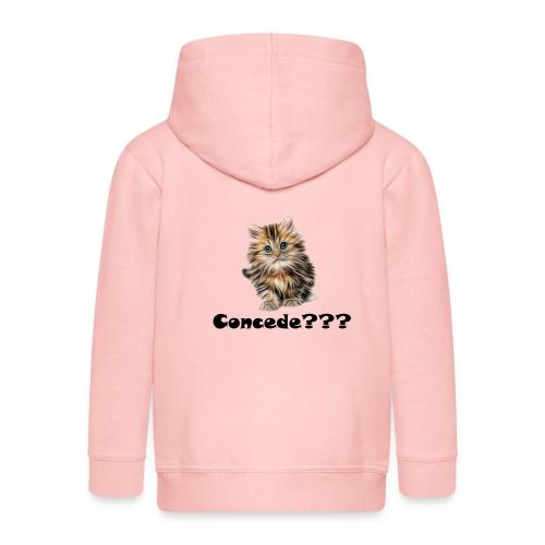 Concede kitty - Premium Barne-hettejakke