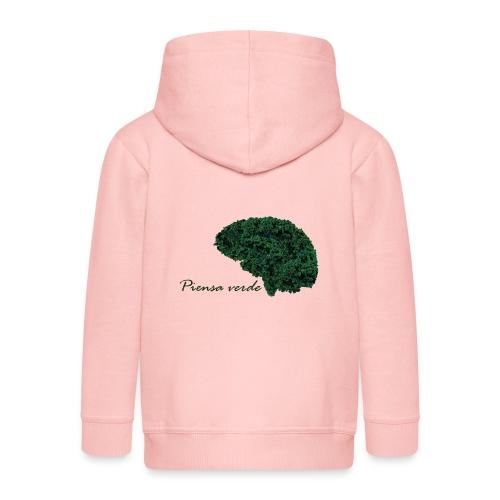 Piensa verde - Chaqueta con capucha premium niño
