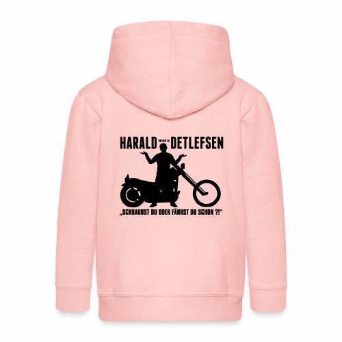 Harald Detlefsen - Kinder Premium Kapuzenjacke