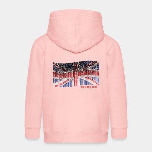 Made in Great Britain - Rozpinana bluza dziecięca z kapturem Premium