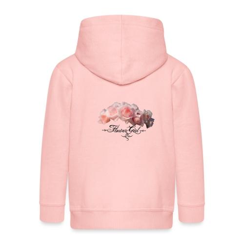 flower girl - Premium hættejakke til børn