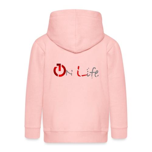 OnLife Logo - Veste à capuche Premium Enfant