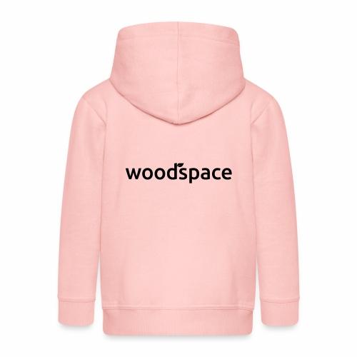woodspace brand - Rozpinana bluza dziecięca z kapturem Premium