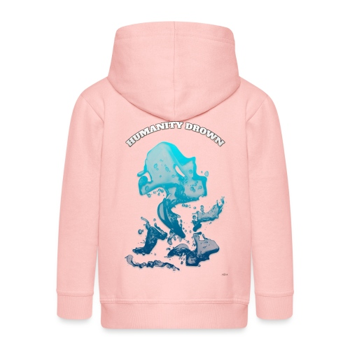 Humanity Drown (us) -by- T-shirt chic et choc - Veste à capuche Premium Enfant