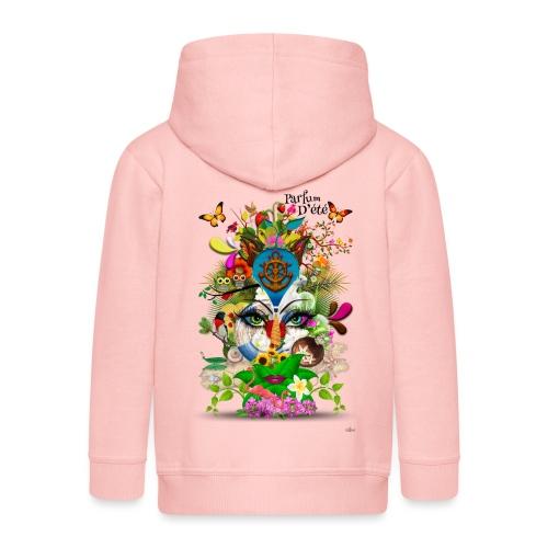 Parfum d'été by T-shirt chic et choc - Veste à capuche Premium Enfant