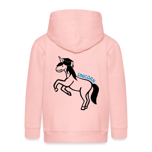 Unicorn - Kinder Premium Kapuzenjacke