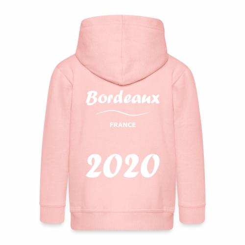 Bordeaux 2020, blanc - Veste à capuche Premium Enfant