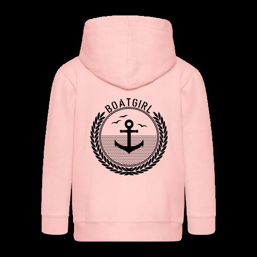 BoatGirl - Anchor - Kinder Premium Kapuzenjacke