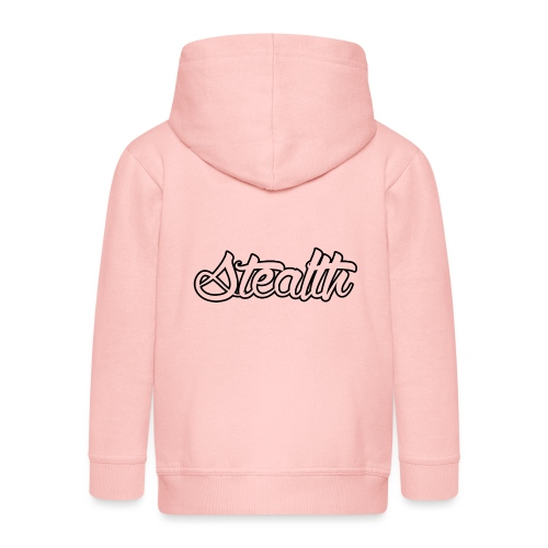 Stealth White Merch - Kids' Premium Zip Hoodie