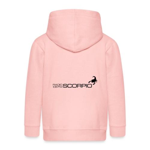 scorpio logo - Kinderen Premium jas met capuchon