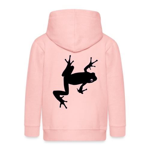 Frosch - Kinder Premium Kapuzenjacke