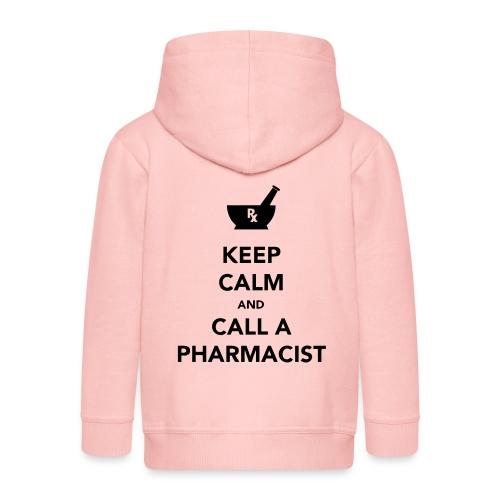 Keep Calm - Pharma - Kids' Premium Hooded Jacket