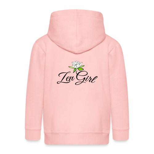 Zen Girl -Lotus Blomma - Prima Vera Design - Premium-Luvjacka barn