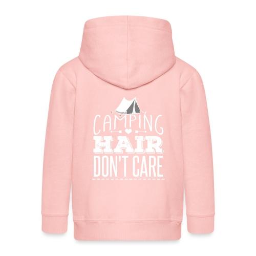Camping Hair Don't Care - Kinder Premium Kapuzenjacke