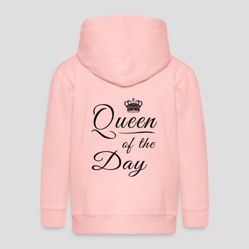 Queen of the day - Kinder Premium Kapuzenjacke