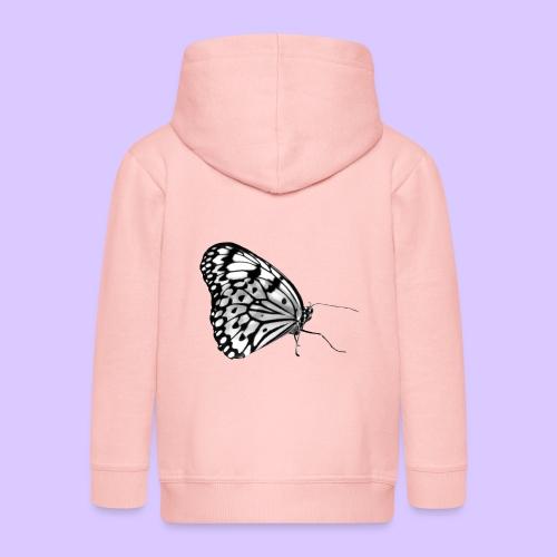 Schmetterling, Schmetterlinge, Insekt, Natur - Kinder Premium Kapuzenjacke
