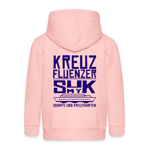 Kreuzfluenzer - SuK my Ship - Kinder Premium Kapuzenjacke