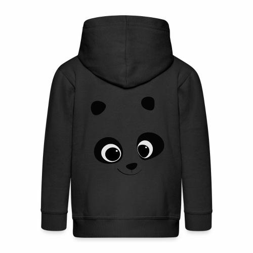 mirada de ternura - Chaqueta con capucha premium niño