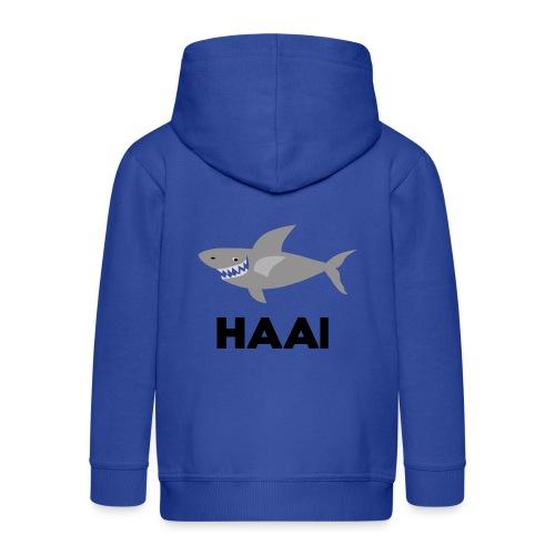 haai hallo hoi - Kinderen Premium jas met capuchon