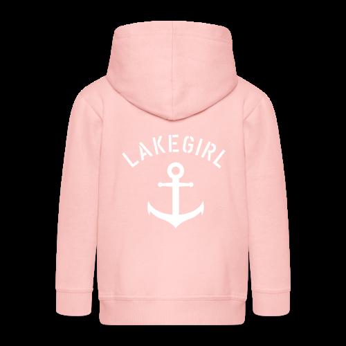 LakeGirl Anchor - Kinder Premium Kapuzenjacke