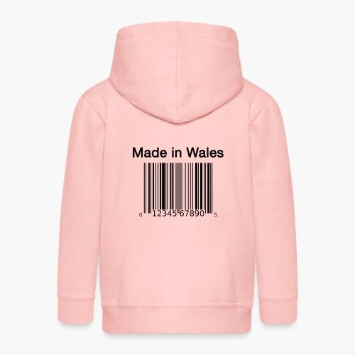 Made in Wales - Kids' Premium Zip Hoodie