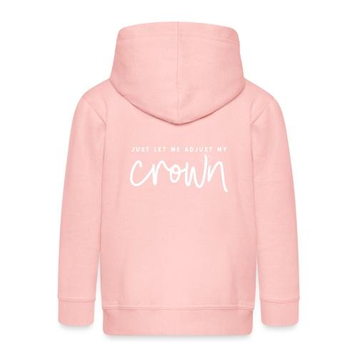 Crown white - Premium-Luvjacka barn