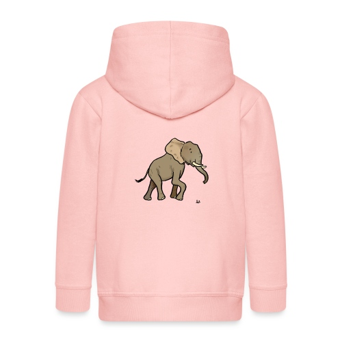 Afrikansk elefant - Premium-Luvjacka barn