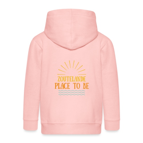 Zoutelande - Place To Be - Kinder Premium Kapuzenjacke