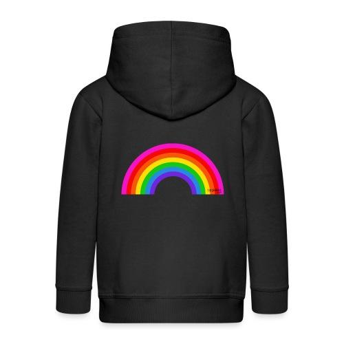 Rainbow - Lasten premium hupparitakki
