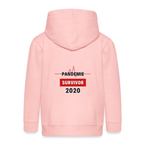 Pandemie Survivor - Kinder Premium Kapuzenjacke