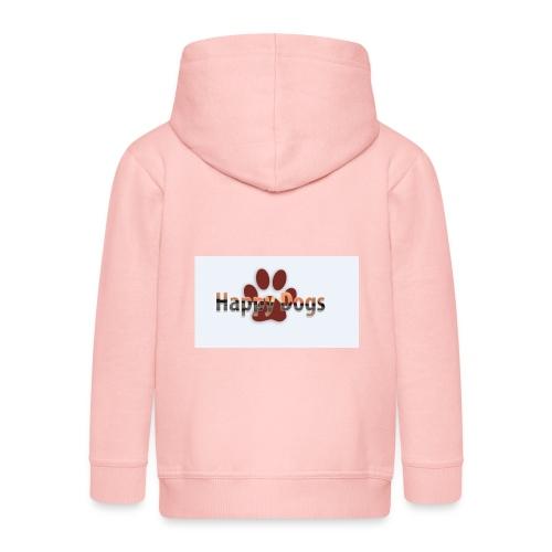Happy dogs - Kinder Premium Kapuzenjacke