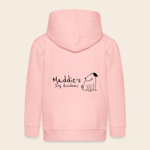 Académie des chiens de Maddie (noir) - Veste à capuche Premium Enfant