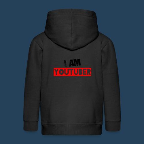 I am Youtuber - Kinder Premium Kapuzenjacke